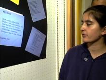 Ergebnispräsentation im Unterricht: Deutsch als Zweitsprache