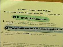 Satzübungen im Unterricht Deutsch als Zweitsprache