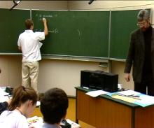 Tafelanschrift im bilingualen Unterricht