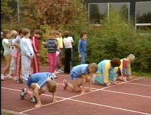 Sportunterricht der Grundschule: Leichtathletik