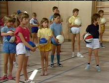 Sportunterricht der Grundschule: Ballspiele