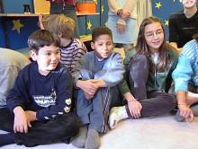 Kinder erzählen Geschichten