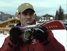 Ausrüstungsprüfung beim Skifahren