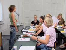 Klassenspiel im Rahmen des Muenchener Lehrertraining