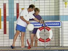 Sicherheit im Schwimmbad